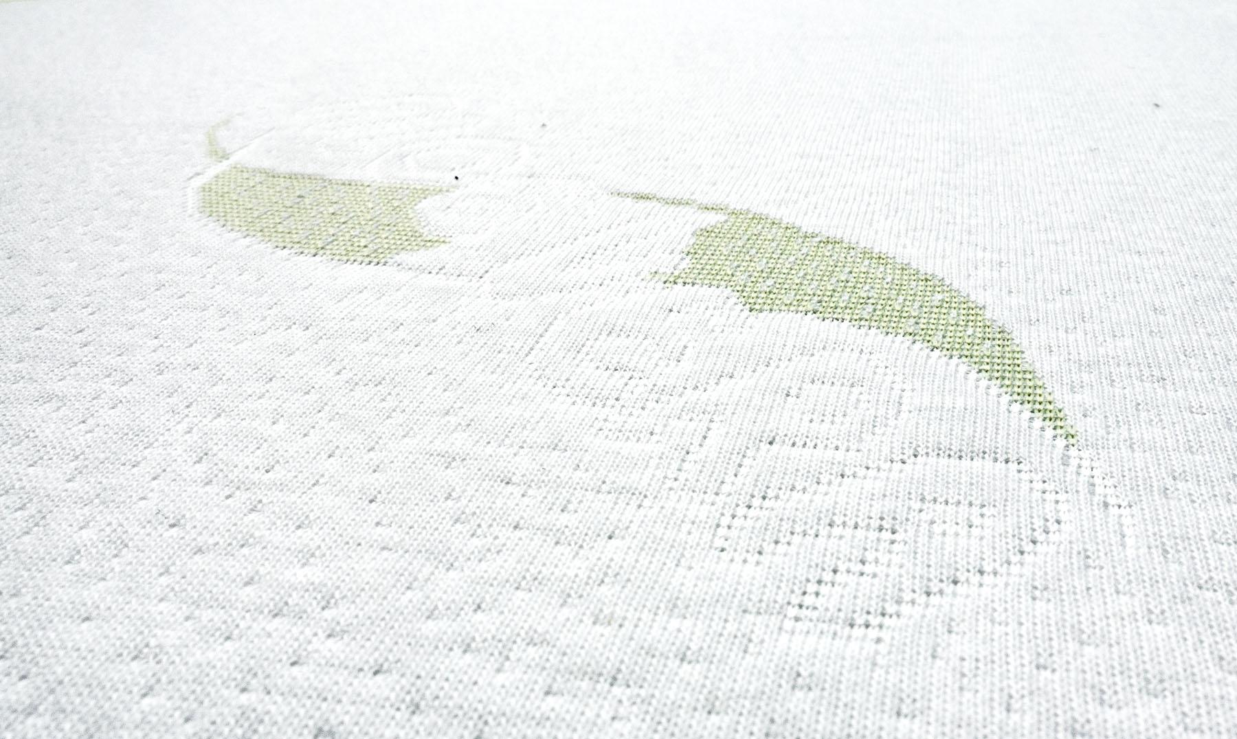 Saltea Sensillo LUXE cu Aloe Vera cocos-spuma-cocos 120x60x11 cm [5]