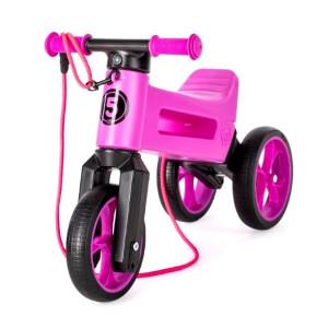 Bicicleta fara pedale Funny Wheels SuperSport 2 in 1 Violet