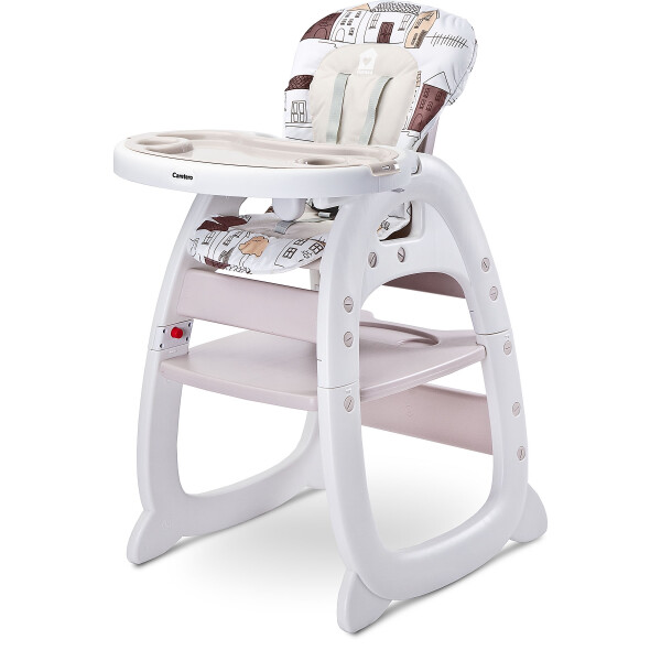 Scaun de masa transformabil Caretero HOMEE 2 in 1 Beige