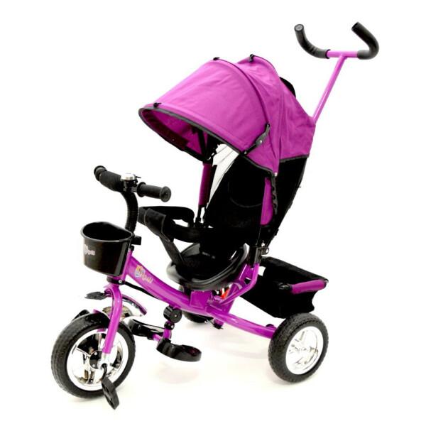 Tricicleta cu maner Skutt AGILIS Purple