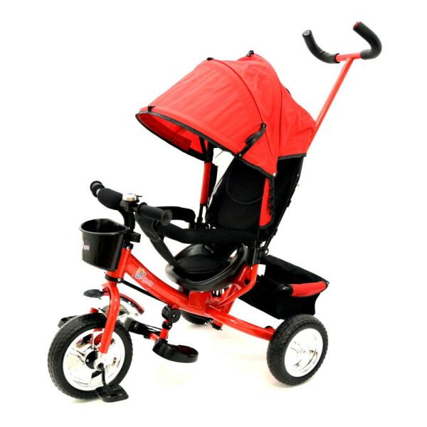Tricicleta cu maner Skutt AGILIS Red